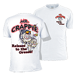 Mr. Crappie Release to the Grease T-shirt