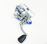Grizzly Elite Silver/Blue Reel