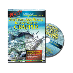 Anytime, Anywhere, Any Water Crappie  Pro Staff Training DVD